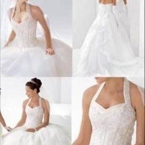 New wedding dress. Bought at David's bridal